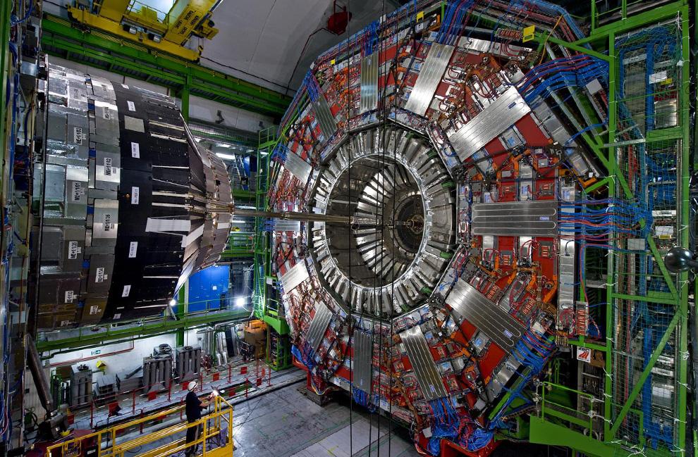 Wêneyek ji Kopîşakara Hadronê
