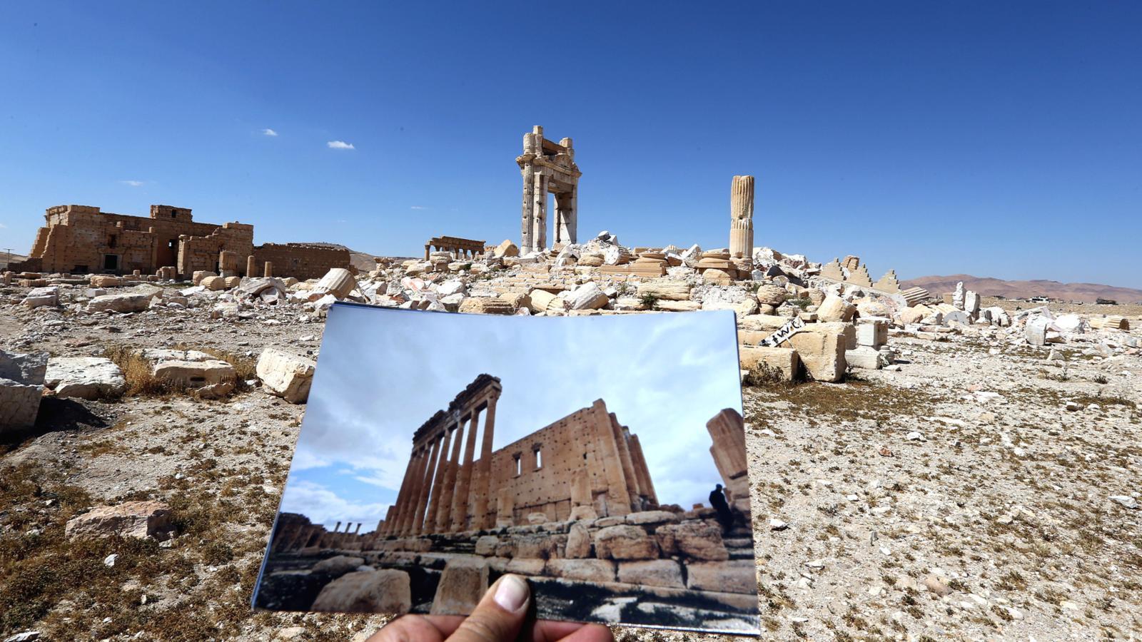 004 - SYRIA-CONFLICT-HERITAGE-PALMYRA