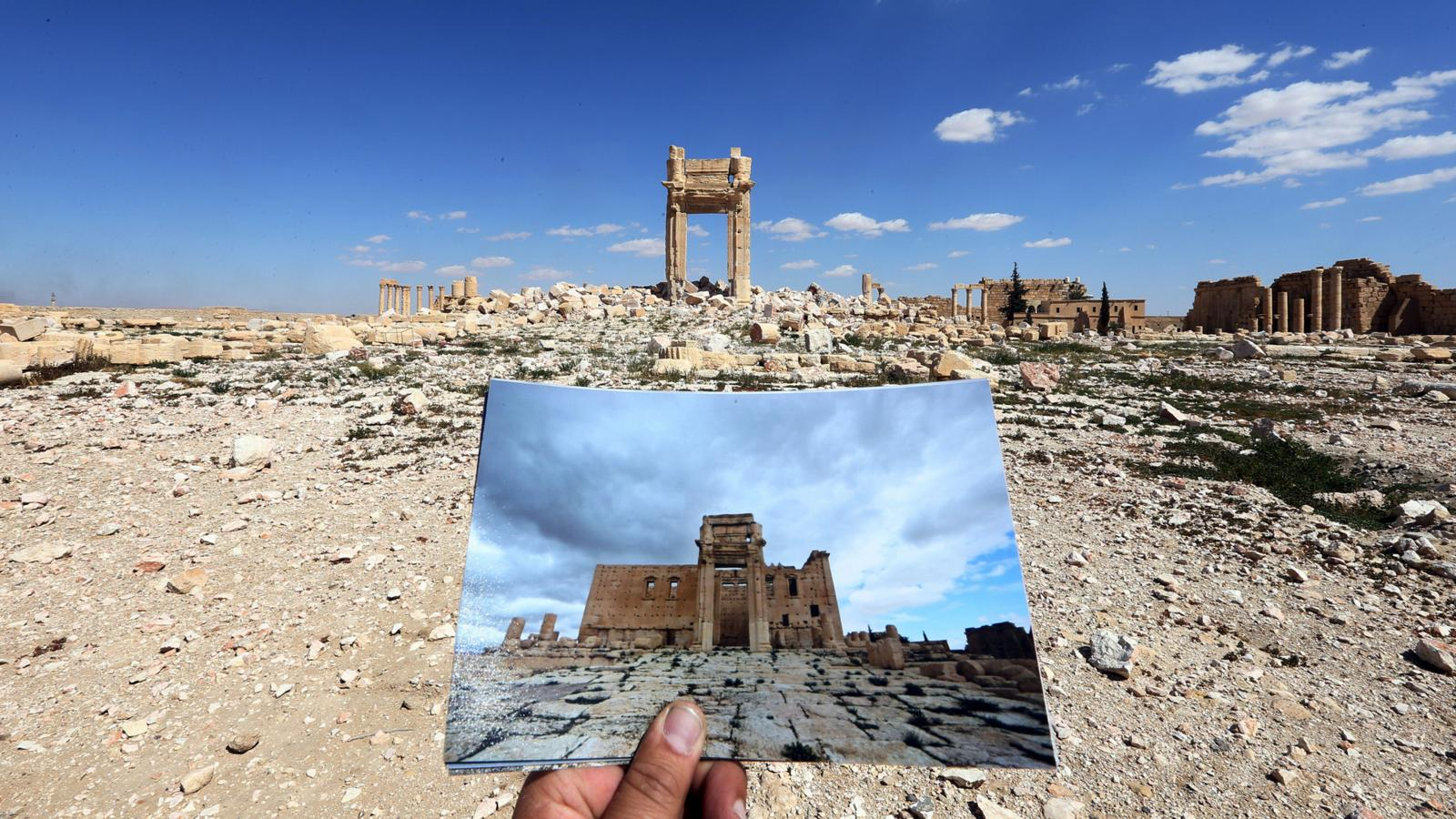 001 - SYRIA-CONFLICT-HERITAGE-PALMYRA