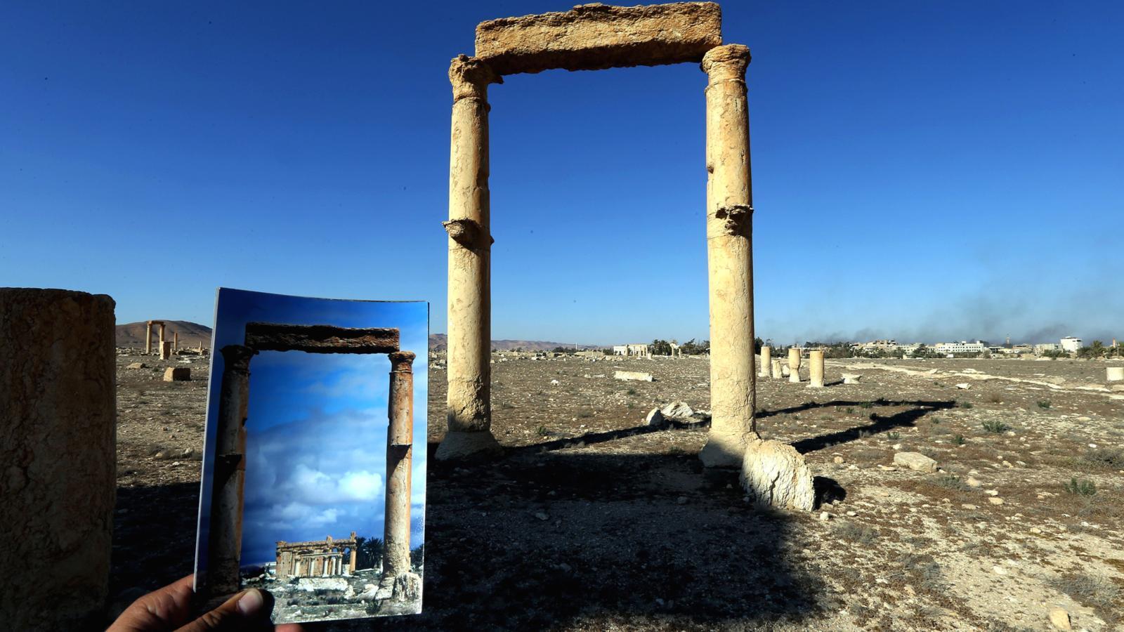 003 - SYRIA-CONFLICT-HERITAGE-PALMYRA