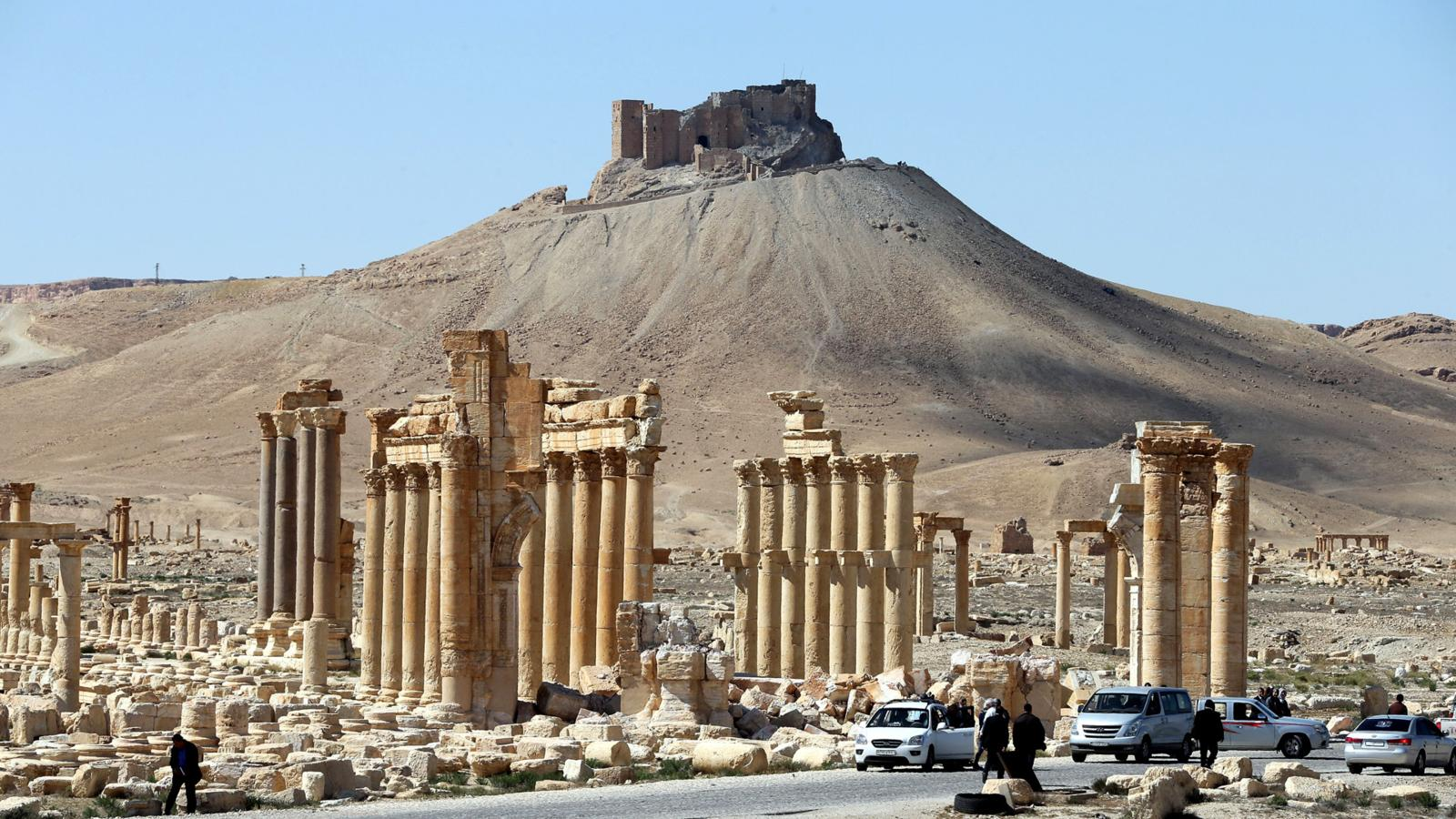 006 - SYRIA-CULTURE-CONFLICT-HERITAGE-PALMYRA
