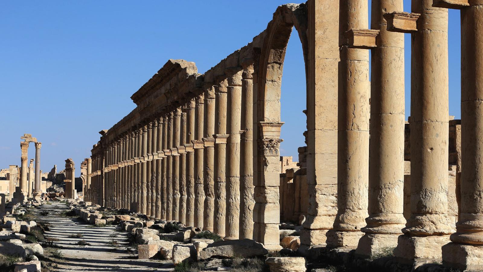 005 - SYRIA-CONFLICT-HERITAGE-PALMYRA