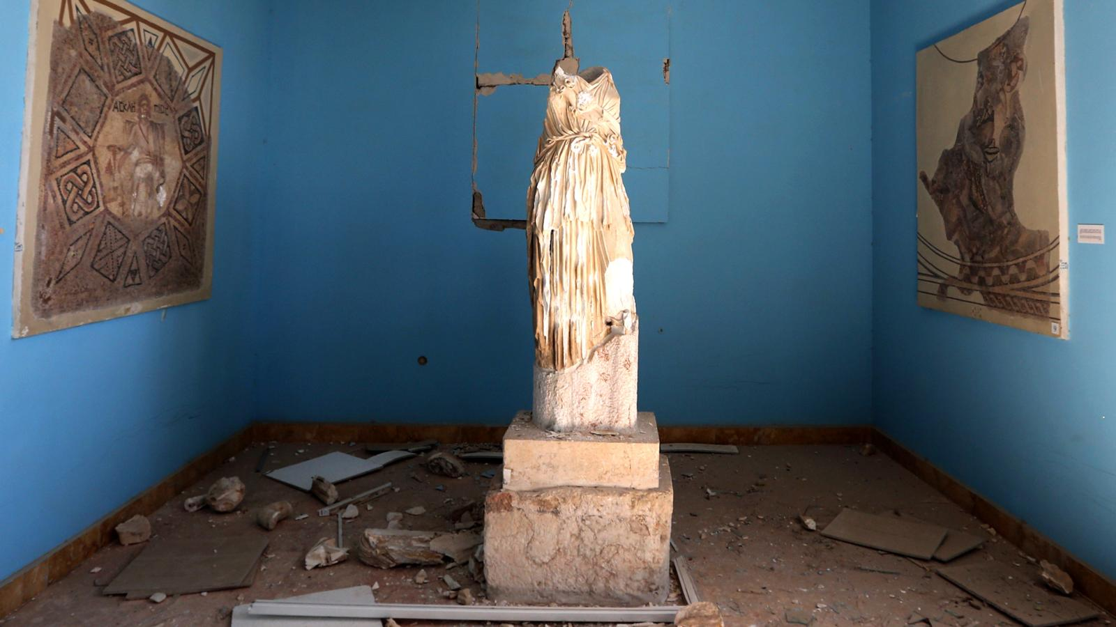 008 - SYRIA-CONFLICT-HERITAGE-PALMYRA